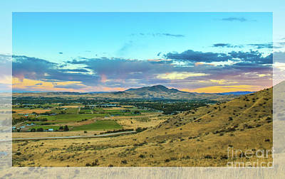 Photograph - Emmett Valley by Robert Bales
