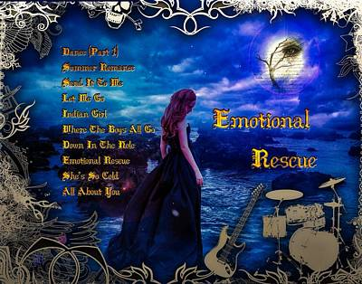 Digital Art - Emotional Rescue by Michael Damiani