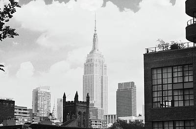 Photograph - Empire State Building by Joe Burns