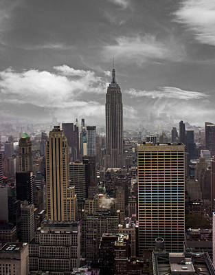 Highrise Building Photograph - Empire State by Martin Newman