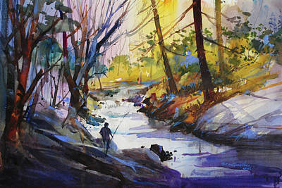 Painting - Enchanted Wilderness by P Anthony Visco