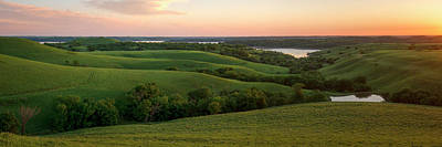 Photograph - End Of The Day In The Flint Hills by Scott Bean