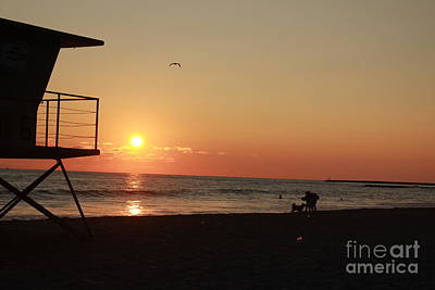 Art Print featuring the photograph End Of The Day by Kim Pascu
