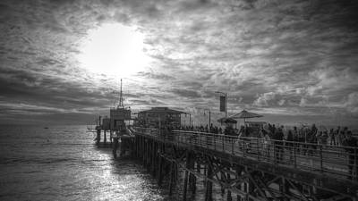 Photograph - End Of The Pier by Robert Melvin