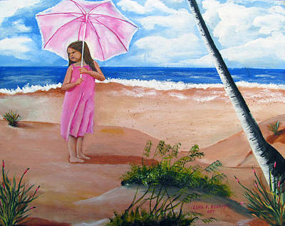 Painting - Endless Summer by Luis F Rodriguez