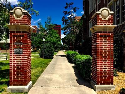 Engineers Court - University Of Oklahoma Art Print