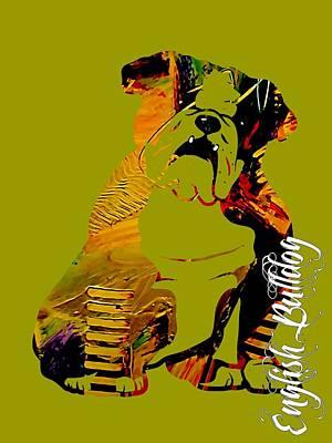 English Bulldog Collection Art Print by Marvin Blaine