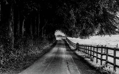 Photograph - English Country Lane by Pixabay