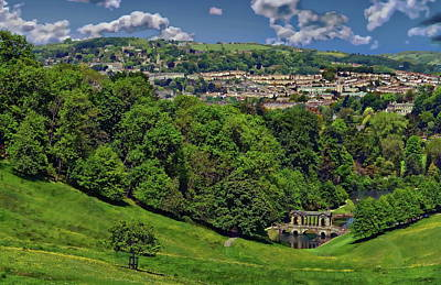 Photograph - English Countryside by Anthony Dezenzio