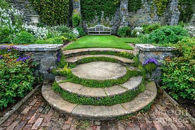 Flower Pot Photograph - English Garden by Adrian Evans