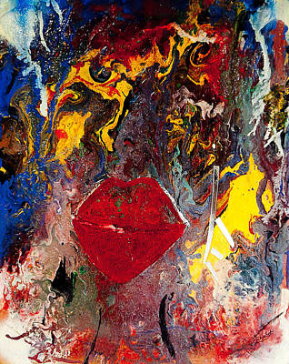 Painting - Enigma by Artista Elisabet