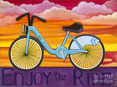 Painting - Enjoy The Ride by Carla Bank