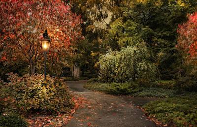 Photograph - Enter Autumn by Robin-Lee Vieira