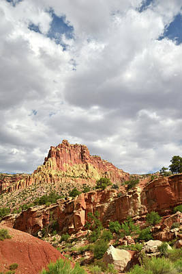 Photograph - Entrance To Capitol Gorge by Ray Mathis