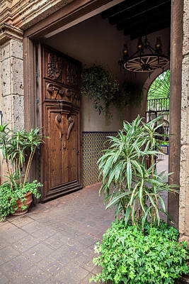 Photograph - Entrance Way by David Cote