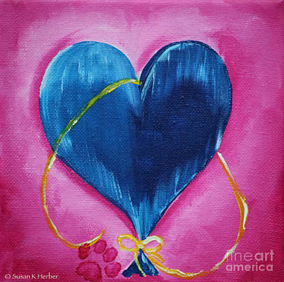 Painting - Entwined by Susan Herber