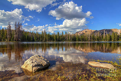 Photograph - Ephemeral Lake by Spencer Baugh