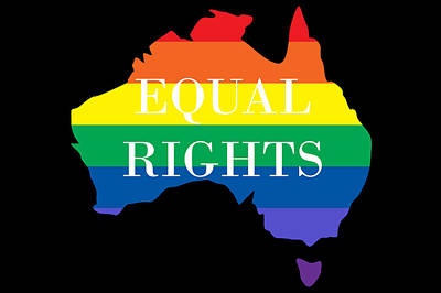 Australian Photograph - Equal Rights Australia by Snowflake Obsidian