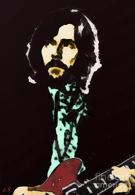 Painting - Eric Clapton by Sergey Lukashin