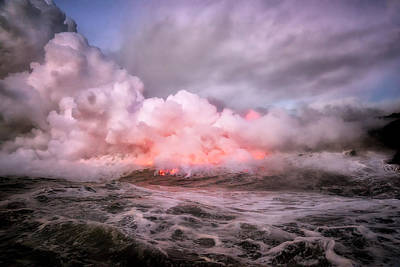 Photograph - Eruption by Nicki Frates