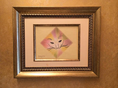 Painting - Essence Of Cat  by Karen Zuk Rosenblatt