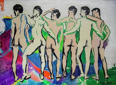 Painting - Eudemonic by Ron Richard Baviello