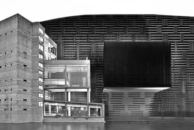 Photograph - Euskalduna Center Bilbao Spain by Marek Stepan