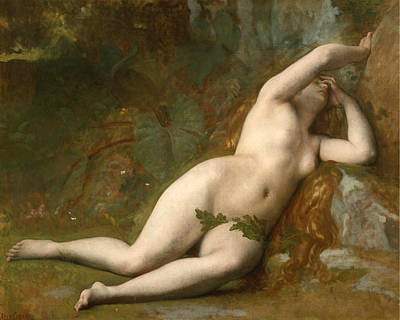 Alexandre Cabanel Painting - Eve After The Fall by Alexandre Cabanel
