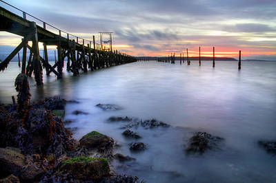 Bournemouth Photograph - Evening Hill - England by Joana Kruse