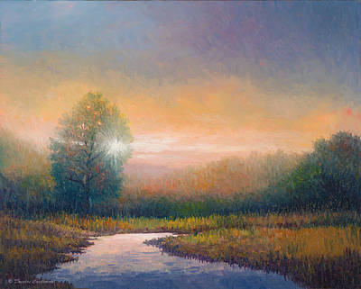 Painting - Evening Light by Douglas Castleman