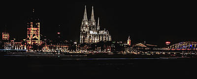 Photograph - Evening Lights Of Cologne by Pixabay