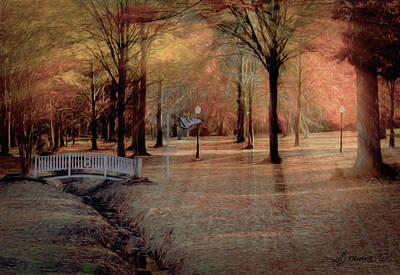Digital Art - Evening Shadows by Bonnie Willis