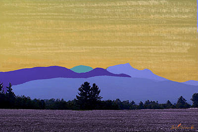 Digital Art - Evening Shadows by John Selmer Sr