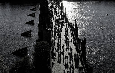 Photograph - Evening Stroll I by M G Whittingham