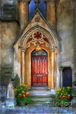 Digital Art - Evensong by Lois Bryan