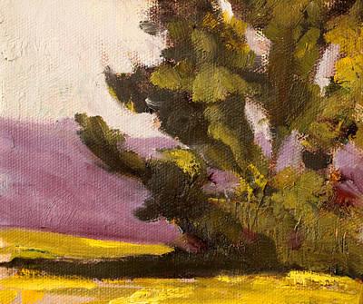 Painting - Evergreen by Nancy Merkle