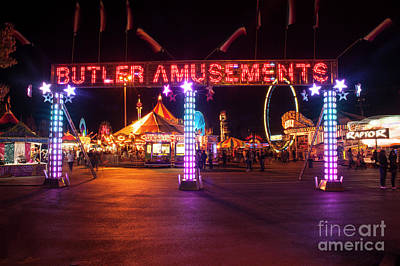 Photograph - Evergreen State Fair by Jim Corwin