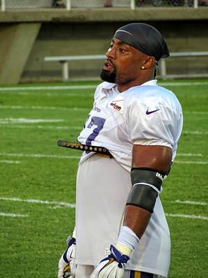 Photograph - Everson Griffen  by Kyle West