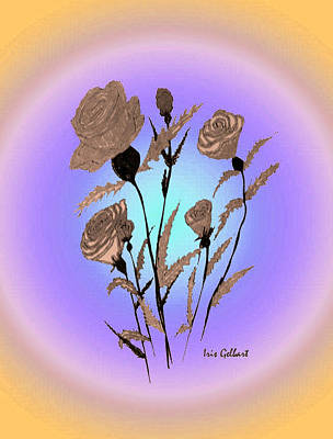 Digital Art - Everyone Loves Roses by Iris Gelbart