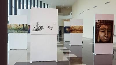 Art Exhibition At City Theatre Playa Del Carmen Original