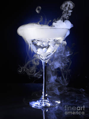 Black Background Photograph - Exotic Drink by Oleksiy Maksymenko