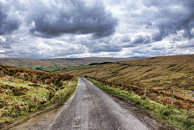 Photograph - Exploring The Sperrin Mountains by Colin Clarke