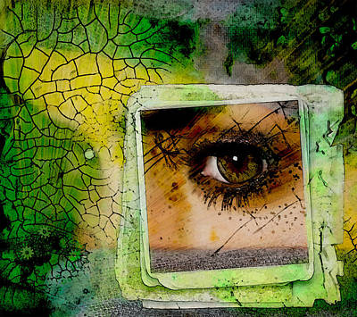 Digital Art - Eye, Me, Mine by Richard Ricci