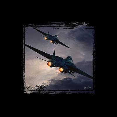 F-14 Flying Iron Art Print