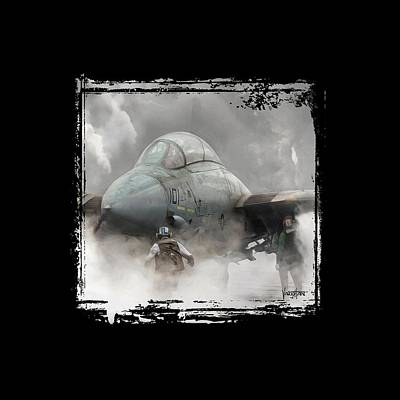 F-14 Smokin' Hot Art Print