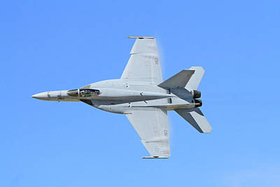 On Trend At The Pool - F-18 Hornet  by Shoal Hollingsworth