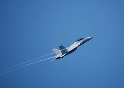 F-18 Hornet Art Print by Wayne Higgs
