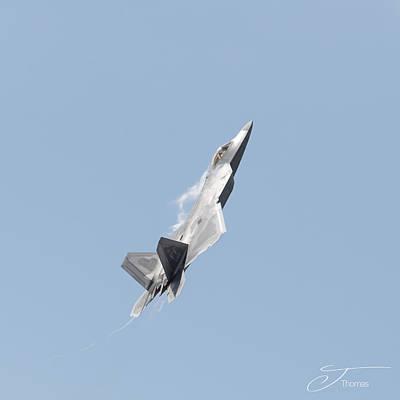Wall Art - Photograph - F-22 Raptor by J Thomas