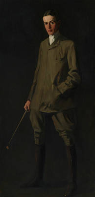 Painting - F. Ambrose Clark by Robert Henri