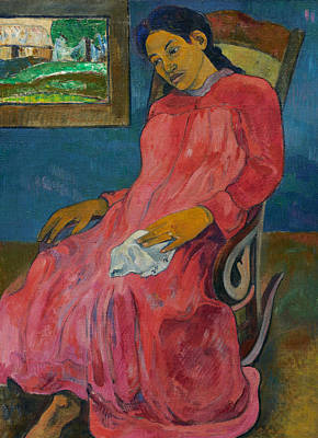 Faaturuma  Art Print by Paul Gauguin